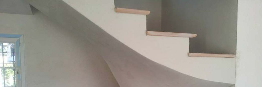 escalier-platre