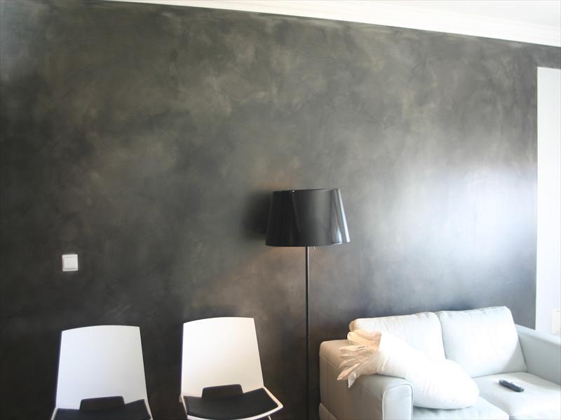 R aliser un mur en stuc pelissanne 13330 for Poncer un mur peint