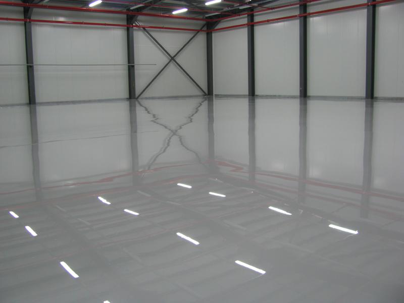 R sine epoxy pour site industriel rognac 13340 for Resine epoxy pour beton